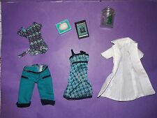 Monster High Doll Clothes Classroom Mad Science Lagoona Outfit Lab Coat Frog +