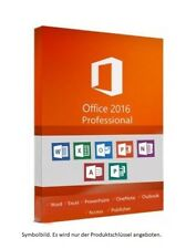 MS Microsoft Office 2016 Professional Plus ✔ 19% USt RECHNUNG - KEIN ABO ✔ 02