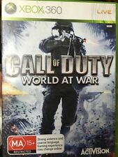 call of duty world at war xbox 360