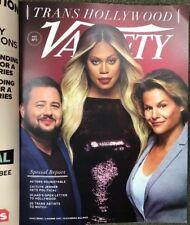 Variety Magazine August 7, 2018 Trans Hollywood Special Report Bono Cox Jenner