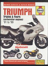 Hinckley Triumph Triples & Fours (91-99) Haynes Manual Tiger Sprint Trophy CE03