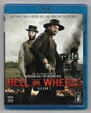 COFFRET 3 BLU-RAY DISC / HELL ON WHEELS ( SAISON 1 ) COMME NEUF