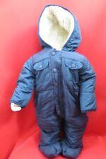 Ben Sherman blue Baby Hooded Snowsuit Size 3-6 Months