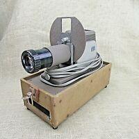 Vintage Mid Twentieth Century Argus 200 Slide Viewer Projector w Case Works!