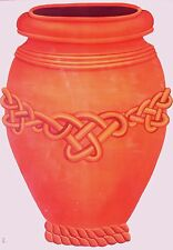 Tatouage Terracotta/Clay Urn Dry rub Transfer