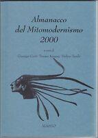 Almanacco del mitomodernismo 2000, Conte, Kemeny, Zecchi, arte, poesia, Alassio