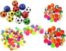Jet Bouncy Balls Footballs Children Kids Party Loot Bags Xmas Stocking Fillers