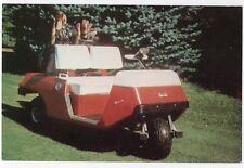 E-Z-GO Golf Car Textron Canada Ltd. POINTE CLAIRE Quebec Advertising Postcard