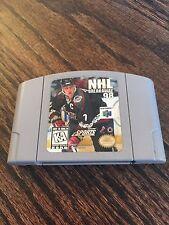 NHL Breakaway 98 Nintendo 64 N65 Game Cart Works NE5!