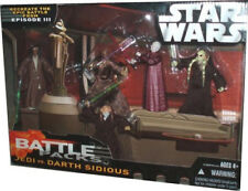 Star Wars Jedi VS Darth Sidious 5 Figure Battle Pack (revenge of The Sith)