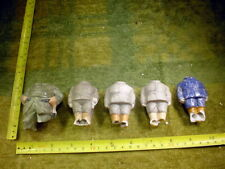 5 x excavated vintage victorian damaged doll bodys age 1890 mixed media B 747