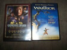 (2) The Warrior & Genghis Khan to the Ends of the Earth & Sea DVDs Movies