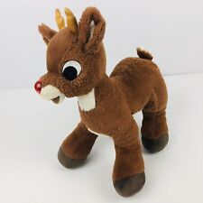 Rudolph The Red Nosed Reinfeer Build-A-Bear Plush Nose Does Not Work Clean