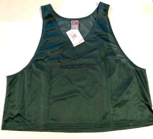 6x Lot Nike Youth Training BIB Pinnies Scrimmage Vest Soccer Football Green