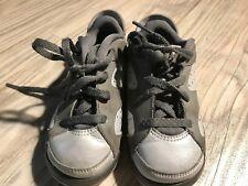 Nike Air Jordan 6 VI Retro Low Gray Purple Boy's Toddlers Size 8C 768885-008🔥B4