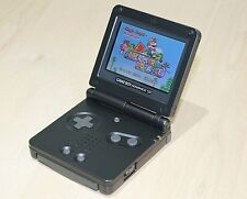 Backlit Backlight schwarz Gameboy Advance SP Konsole ags101 NEU generalüberholt GBA