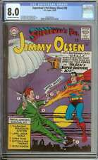 SUPERMAN'S PAL JIMMY OLSEN #89 CGC 8.0 OW/WH PAGES