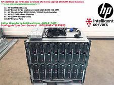 HP C7000 G2 16x HP BL460c G7 L5640 192-Cores solución blade 1024GB 1TB Ram