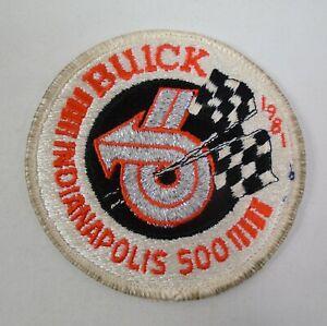 1981 Indianapolis 500 Event Buick Regal V6 Emblem Patche Bobby Unser Penske