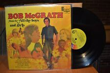 Bob McGrath sings for All the Boys and Girls LP Disneyland 1357 Stereo