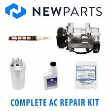 2000-2001 Dodge Dakota L4 2.5 Complete A/C Repair Kit New Compressor with Clutch