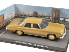 1/43 CHEVROLET BEL AIR LIVE AND LET DIE JAMES BOND 007 DIECAST MODEL