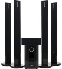 Sherwood RD6513B AV Receiver Black with Sherwood LSS-5109, 5 Speaker Pack