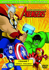 The Avengers - Earth's Mightiest Heroes: Volume 1 DVD NEW/SEALED/FREE POST