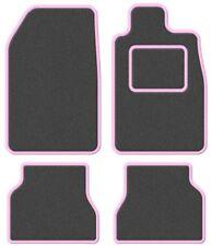 Suzuki Samurai/Santana/SJ 410 Super Velour Dark Grey/Pink Trim Car mat set