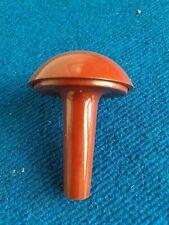 Vintage Bakelite darning Mushroom  Brown
