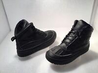Nike ACG Teenager Woodside 2 Boots Boy's Sz 7Y Black Leather/Rubber #524872-001