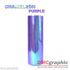 Chameleon Purple Car Motorbike Headlight TailLight Film Adhesive Vinyl Tint Wrap