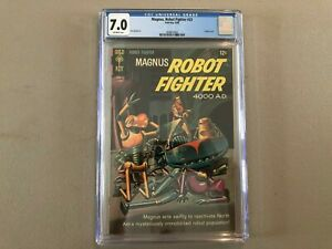 Magnus, Robot Fighter #23--CGC 7.0--Painted cover!