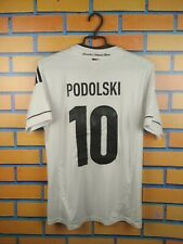 Podolski Germany jersey Youth XL Adult S 2014 home shirt soccer football Adidas