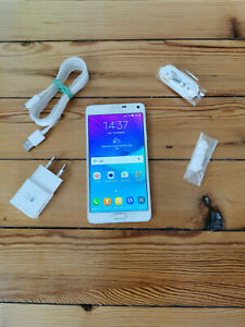Samsung Galaxy Note 4 SM-N910F 32Go Blanc (Désimlocké) - Parfait état et boîte