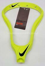 New Nike NVAH-HDOVB Vapor Unstrung Lacrosse Head in Volt / Black
