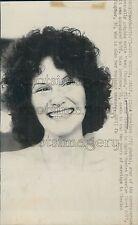 1973 Smiling Actress Linda Lovelace Press Photo