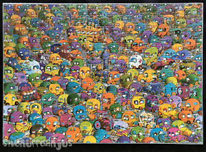 Heye - Mordillo ** STOP-AND-GO ** 1000 pieces complete + poster (STOP & GO)