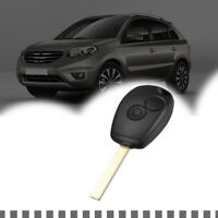 2 Buttons Fob Shell Remote Key Case Blade For Renault Modus Clio 3 Twingo Kangoo