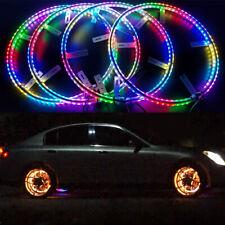 LED Wheel Lights Moving Flashing RGB Color Kit Wireless fits Hyundai Cars Or SUV