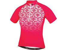 Femme ALTURA Baroque manches courtes maillot de cyclisme-framboise taille 10