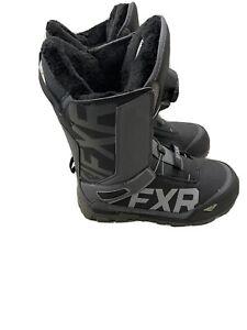 2020 FXR HELIUM LITE BOA BOOT - SNOWMOBILE - BLACK CHARCOAL