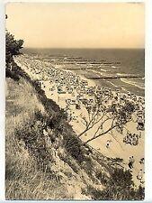 E 144 - Koserow Usedom, Strand, 1961 gelaufen, toller Stempel
