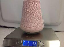 100% Wool Yarn On Cone - Petal Pink