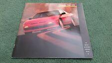 1988 / 1989 Model NISSAN 240 SX COUPE XE FASTBACK SE - LARGE USA BROCHURE Silvia