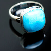 Larimar 925 Sterling Silver Ring Size 7.25 Ana Co Jewelry R993992F