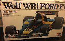 Jody Scheckter - Tamiya 1:12 Wolf WR1 Ford F1 Plastic Model Kit - New Sealed Box