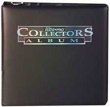 Ultra Pro 3 Ring Collectors Card Album Binder [Black]