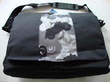 Gymboree STUNT MAN Black & Gray Motorcycle Book Bag Backpack - NWT NEW