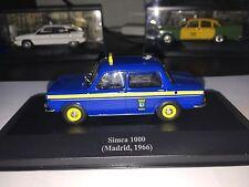 Taxi Cab - Simca 1000 - Madrid / Spain license plates